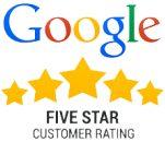 Google 5 Star Customer Rating