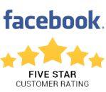 Facebook 5 Star Customer Rating